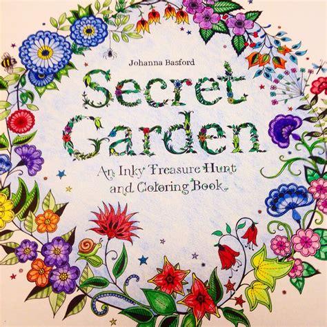 secret garden colouring book brisbane my page secretgarden johanna