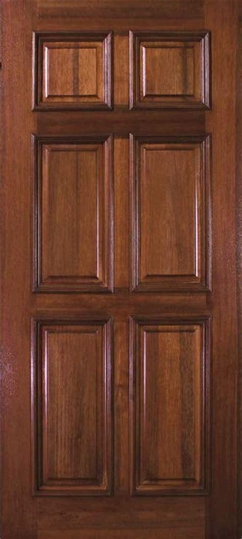 Six Panel Exterior Wood Doors by Pre Hung Home Single Door 80 Wood Mahogany 6 Panel Solid