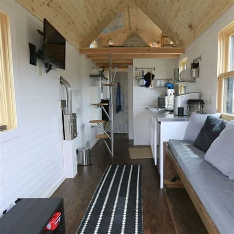 1000 ideas about tiny house interiors on pinterest tiny new england tiny house interior 2 interesting stairs