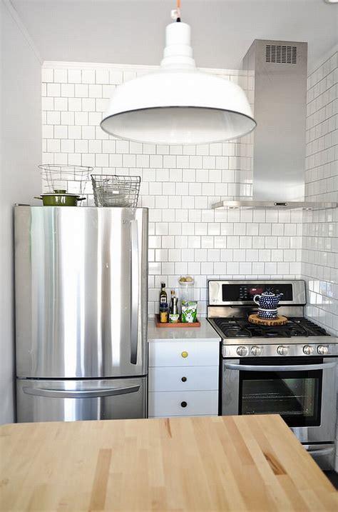 cozinhas pequenas  voce se inspirar limaonagua