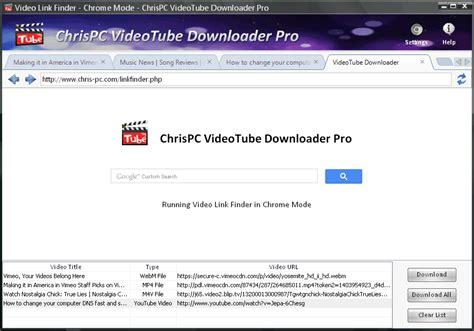 download youtube link chrispc free videotube downloader download youtube