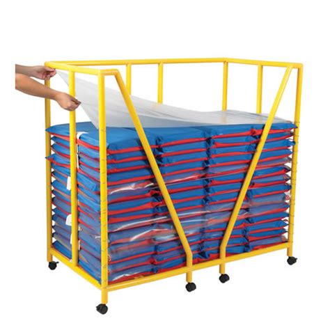 1 plastic rest mat rest mat trolley and sanitation dividers
