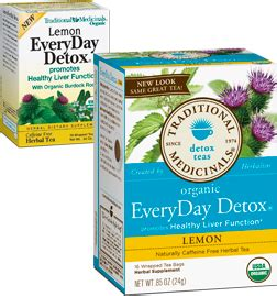 Traditional Medicinals Detox Tea Lemon by Tea Traditional Medicinals Everyday Detox Lemon Organic