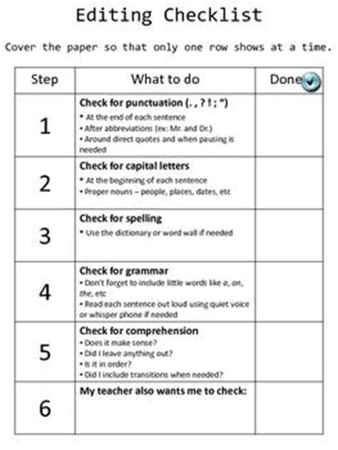 peer review template editing peer review checklists photo editor editor