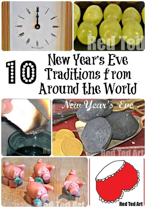 new year s eve traditions from around the world around