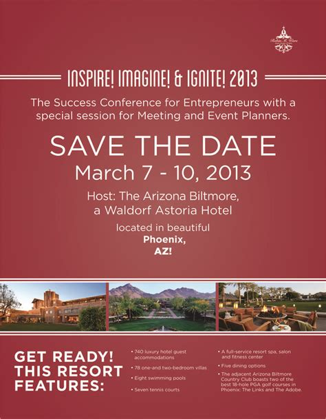 conference invitation templates save the date march 7 10 2013 for the success