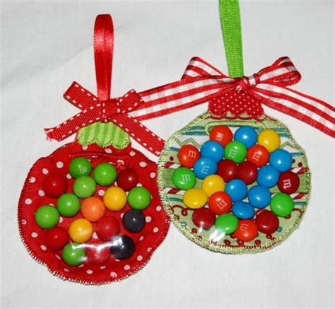 host a christmas ornament making party items similar to ornament favor ith machine embroidery design instant on etsy