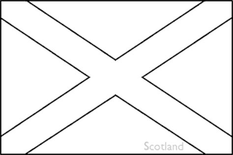 Scotland Flag Coloring Pages Gt Gt Disney Coloring Pages Scotland Flag Coloring Page