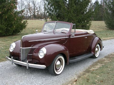 coupe convertible 1940 ford 2 door deluxe convertible coupe