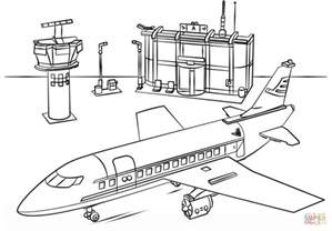 lego coloring lego airport coloring page free printable coloring pages