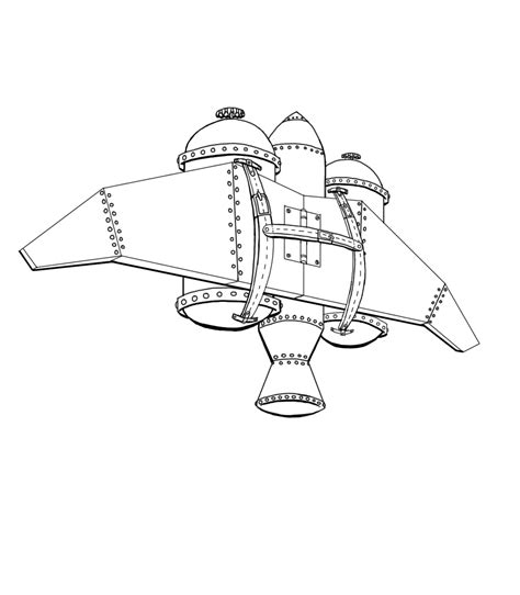 Jetpack Coloring Page | jetpack colouring pages sketch coloring page