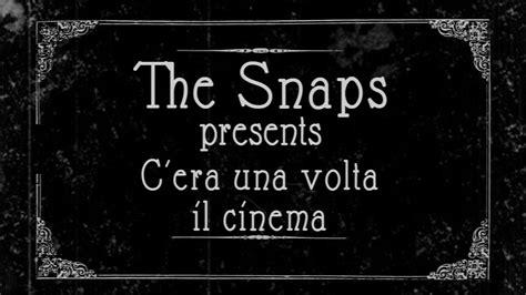 cornice muto c era una volta il cinema parodia muto