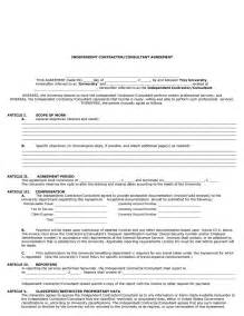 contractor agreement template free 50 free independent contractor agreement forms templates