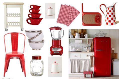imagenes de neveras rojas c 243 mo decorar una cocina vintage nevera buscar con
