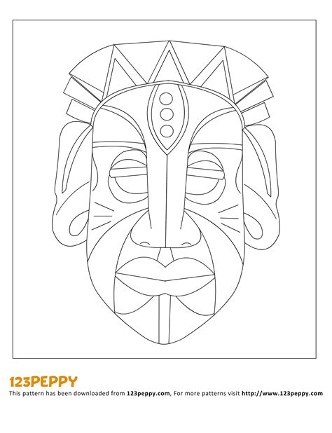 african tribal patterns coloring page african tribal patterns coloring page