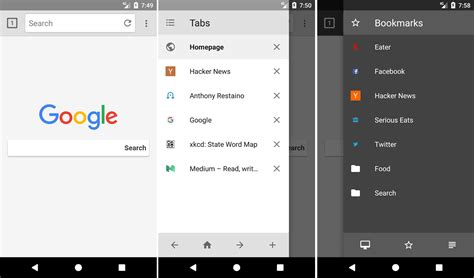 browsing android 4 free android ios lightweight browsers save bandwidth block ads and protect privacy