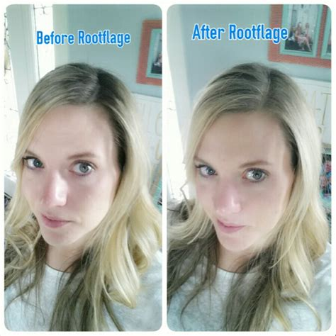 How To Blend In Hair Roots | quick hide those roots with rootflage temporary hair