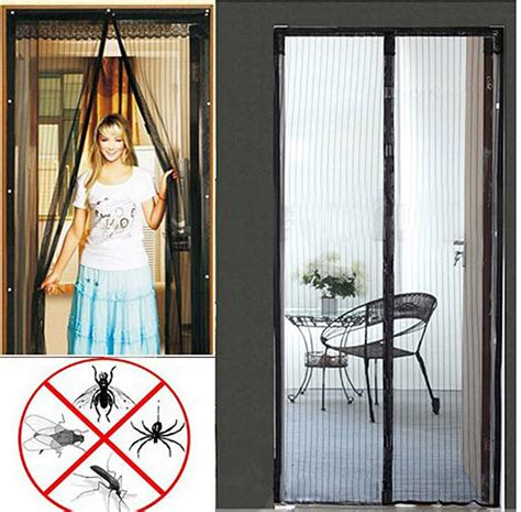 insect screen door curtain magic mesh insect door curtain pet fly mosquito screen