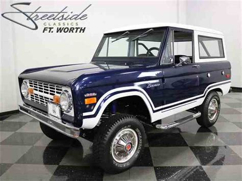 ford bronco 1970 1970 ford bronco for sale on classiccars com 8 available
