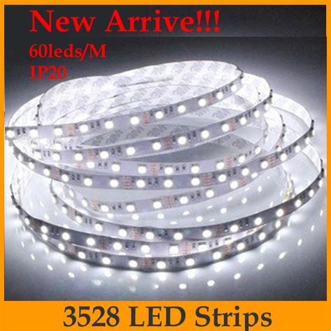 wholesale led non waterproof strip light 10m 3528