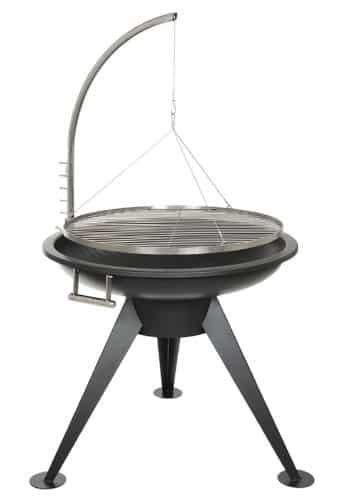 grill feuerschale edelstahl deluxe bbq 80 cm schwenk grill edelstahl smoker