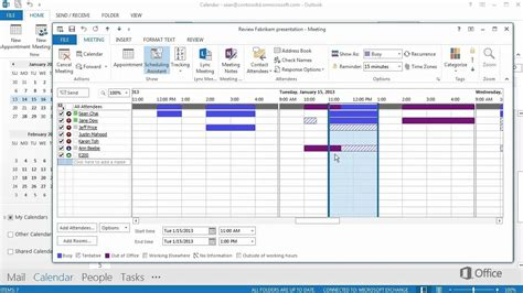 Office 365 Outlook How To Calendar Office 365 How To Series Use The Scheduling Assistant In