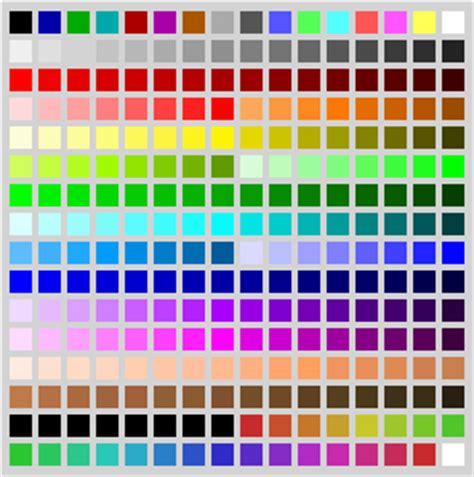ntsc256 color palette by hmontes on deviantart