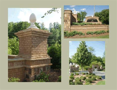 Landscape Architect Decatur Ga Baker Land Design Entrance Design Atlanta Ga