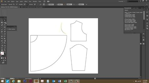 sewing pattern adobe illustrator measuring a curved path or line in adobe illustrator cs6
