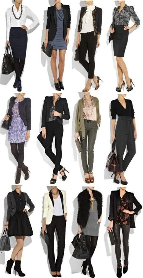 Style Ideas How To Wear Those Black Second City Style Fashion by Business Casual For 2013 Business Casual Dresses