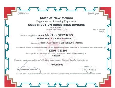 aaa master services licences