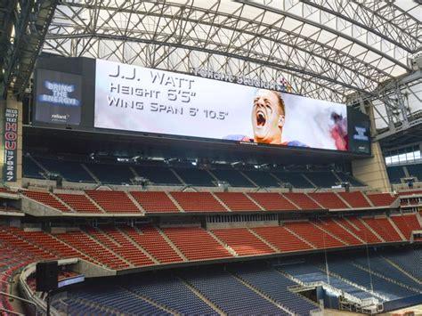 nrg board cowboys jerry jones outclassed texans big scoreboard not all show culturemap houston