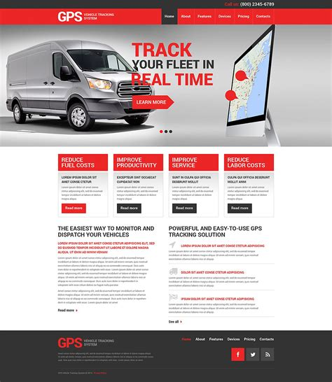 transportation website template 49381 designthemeok