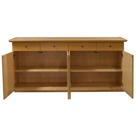 wood credenza creative wood products used 75 inch credenza light cherry