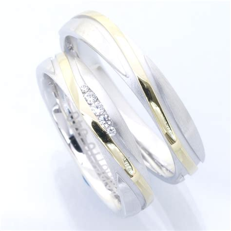 G Nstige Verlobungsringe Wei Gold by Eheringe Shop G 252 Nstige Bicolor Trauringe 585 Gelb