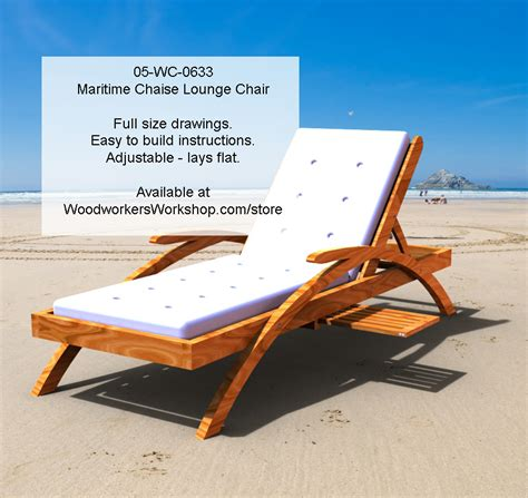 chaise lounge woodworking plans 05 wc 0633e maritime chaise lounge chair woodworking