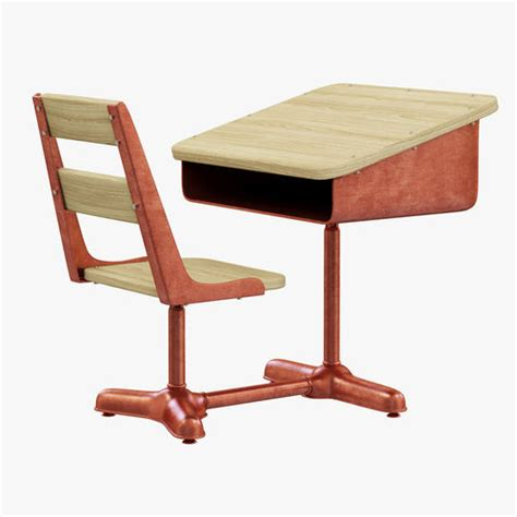 schoolhouse desk and chair restoration hardware vintage schoolhouse desk and chair 3d
