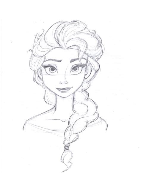 how to draw elsa doodle draw elsa from frozen drawing for the elsa