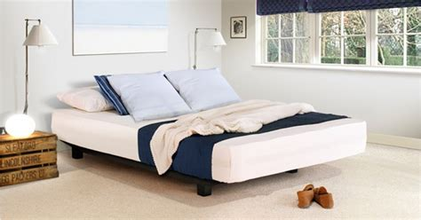 floating platform bed handmade floating platform bed by get laid beds ebay