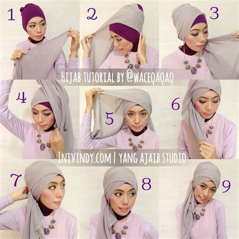 download video tutorial hijab wisuda ini vindy ini vindy yang ajaib 4 tutorial hijab pesta elegan dan
