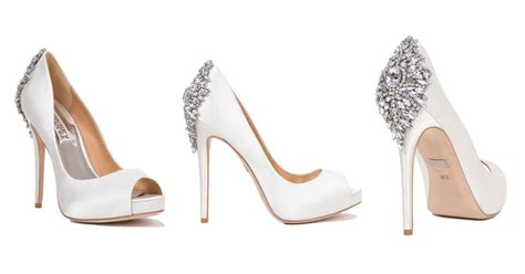 Designer Bridal Shoes by Wedding Shoes From Designer Badgley Mischka
