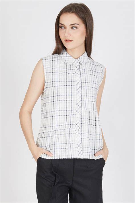 Nancy Ruffle by Sell Nancy Asy Ruffle Shirt White Shirts