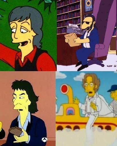 mensajes subliminales the beatles the beatles simpson wiki en espa 241 ol la wiki de los simpson