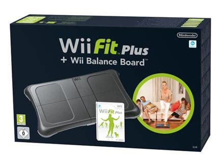 pedana wii fit plus wii fit plus balance board in versione total black