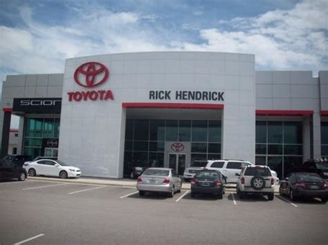 Toyota Dealers In Nc Rick Hendrick Toyota Scion Car Dealership In Fayetteville