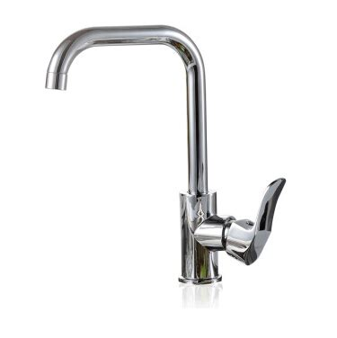 discount seven shaped brass commercial kitchen faucet
