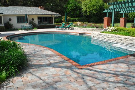 pool design plans 25 stone pool deck design ideas digsdigs