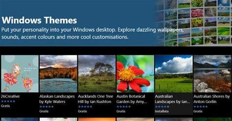 installare temi desktop  windows   cambiare sfondo