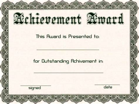 microsoft publisher award certificate templates award certificate templates microsoft certificate234
