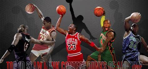 best slam dunk contest dunks top 10 slam dunk contest dunks of all time